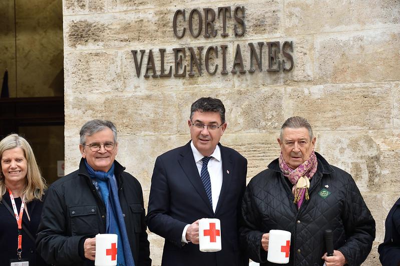 Mesa Petitoria Cruz Roja