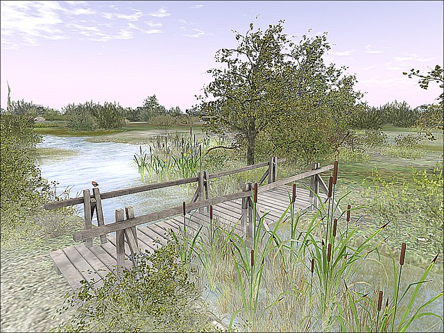 Endless - Footbridge Over the Marsh of Time