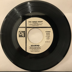 SEAWIND:ONE SWEET NIGHT(RECORD SIDE-A)