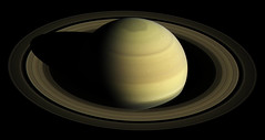Saturn's northern hemisphere in 2016, as that part of the planet nears its northern hemisphere summer solstice in May 2017. Original from NASA . Digitally enhanced by rawpixel.