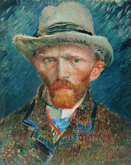 Self-portrait (1887) by Vincent Van Gogh. Original from The Rijksmuseum. Digitally enhanced by rawpixel.