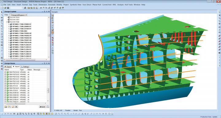Working with AVEVA Marine 12.1 SP4.29 x86 x64 full license