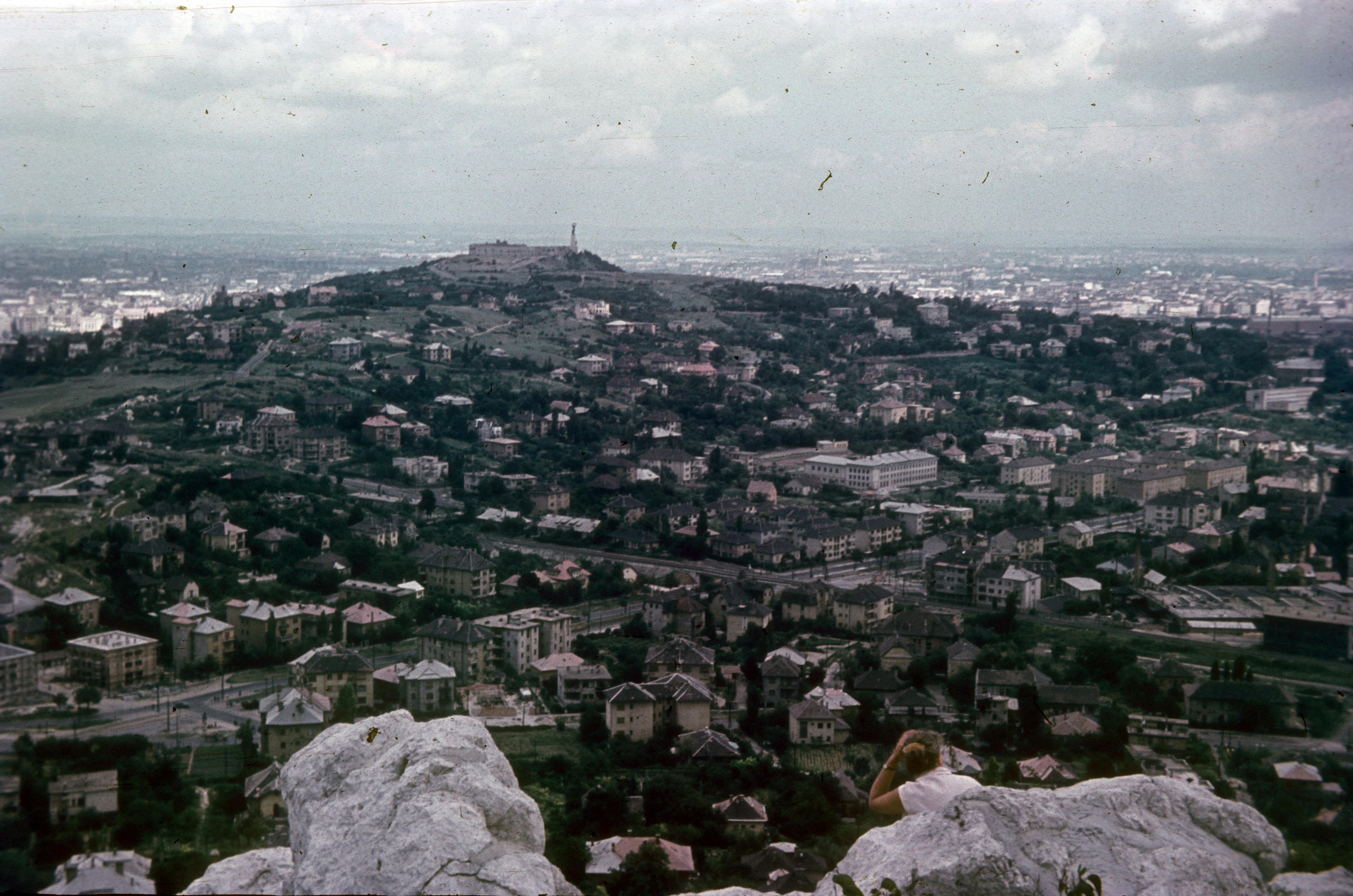 Вид в сторону горы Геллерт