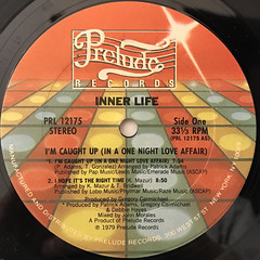 INNER LIFE:I'M CAUGHT UP(IN A ONE NIGHT LOVE AFFAIR)(LABEL SIDE-A)