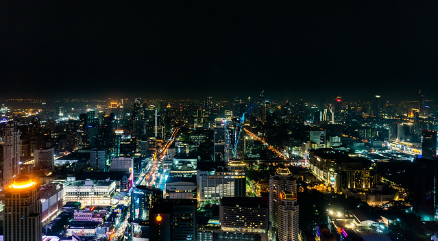 View of Bangkok from Baiyoke Sky Hotel
