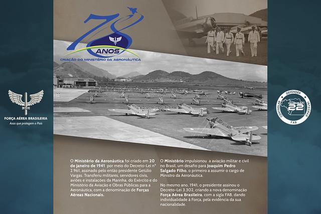 2019 - Exposição Dia da Criação do Ministério da Aeronáutica