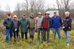 Remediation Team at Arthur Langford Nature Reserve