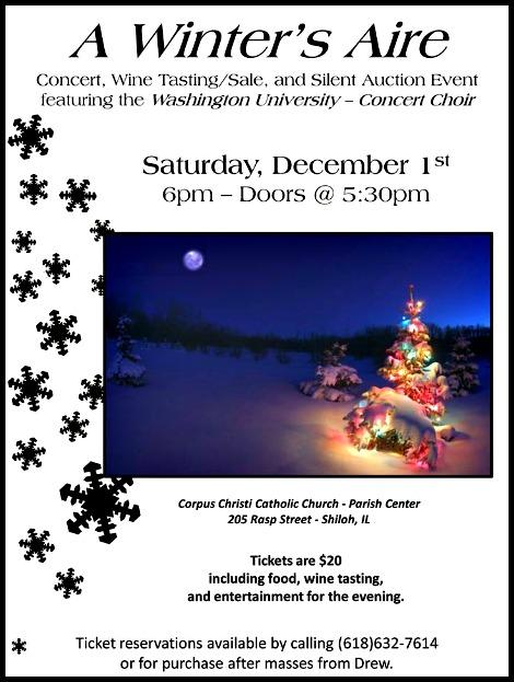 Washington University Choir 12-1-18