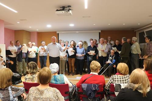Actuación Coro de ASPARBI (Hospital San Eloy)