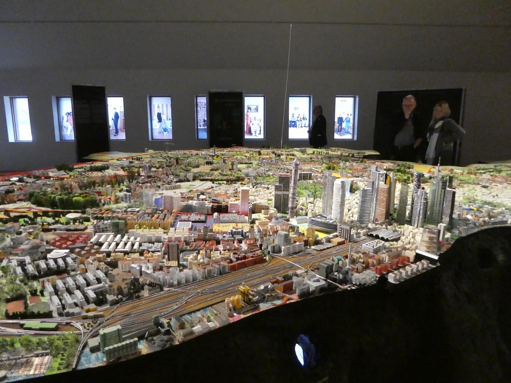 Scale model of Frankfurt in the Frankfurt History Museum