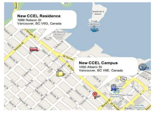 ccel residence map