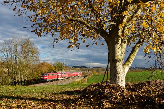 111 135, RE Stuttgart Hbf - Würzburg Hbf, Lauffen am Neckar