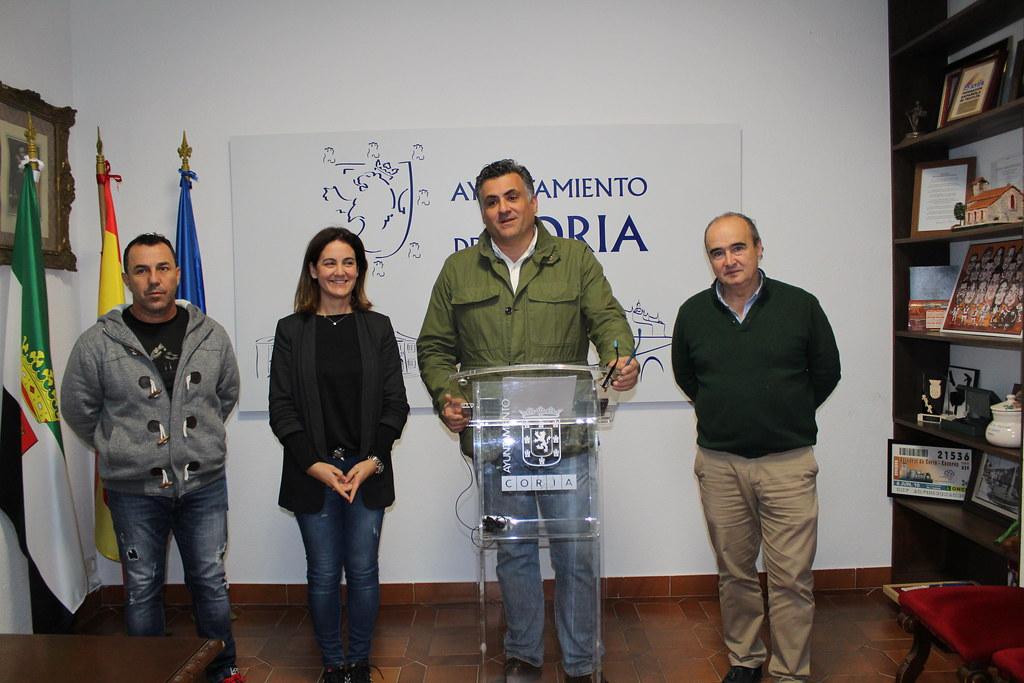 El Ayuntamiento de Coria prestará un servicio de apoyo a empresas, autónomos y emprendedores