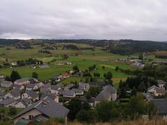 20080906 31494 1007 Jakobus St Alban Hügel Wald Wiese Häuser