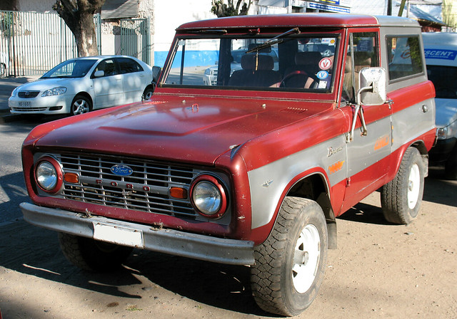 Ford Bronco 289 1967, Canon POWERSHOT A630