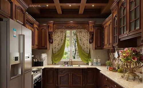 Rustic kitchen-b