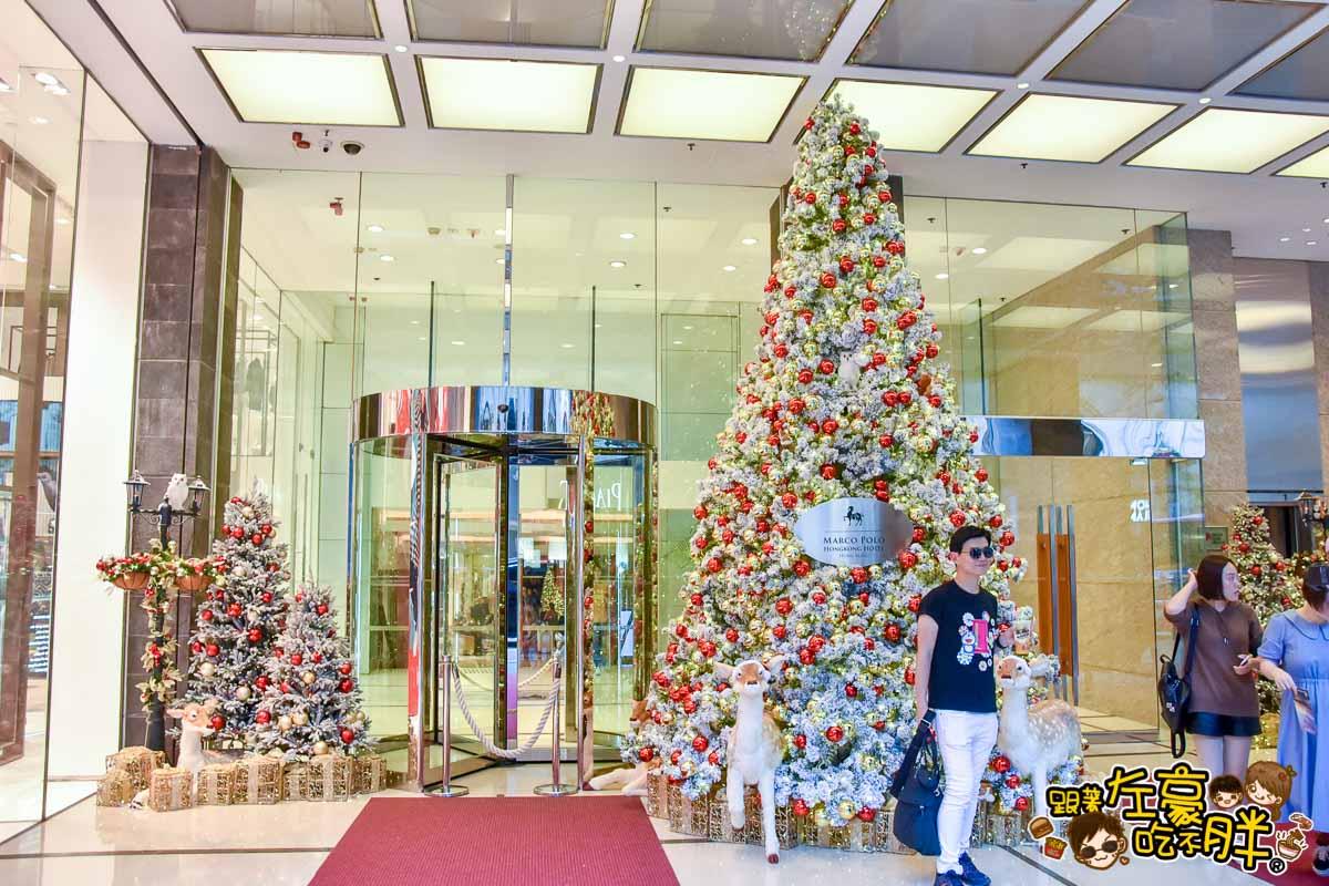 香港聖誕節 尖沙咀海港城聖誕裝飾-8