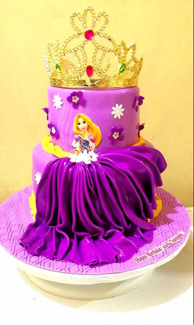 Princess Rapunzel Cake by Gilimani Bakers