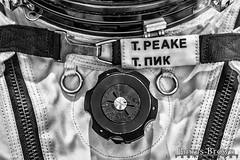 Tim Peake's Sokol KV-2 emergency suit