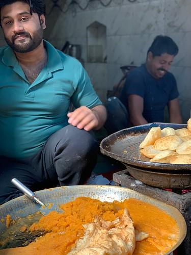 City Food - Muhammed Sajid's Sooji Halwa, Turkman Gate Bazar