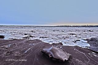 Frozen Chocolate River
