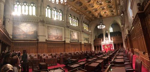 Senate Chamber, Canadian Parliament, Ottawa