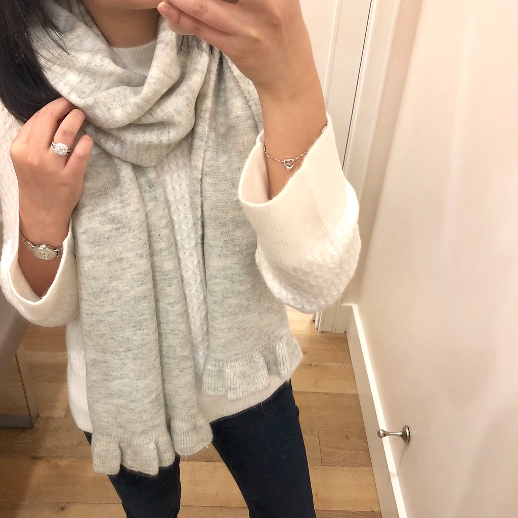 阁楼 Heathered Ruffle Scarf