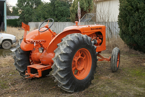 1943 Allis Chalmers WF Styled Tractor..