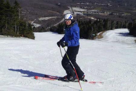 Pavel Šťastný, jeden z nejúspěšnějších českých lyžařských trenérů, vlastníma očima