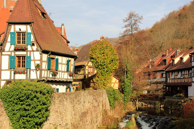 Kaysersberg Alsace France village, Canon EOS 550D, Sigma 18-200mm f/3.5-6.3 DC OS HSM [II]
