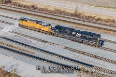 UP 3998 | EMD SD70M | UP Marion Intermodal Railport