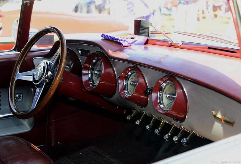 1955 Ghia Chrysler Falcon Concept