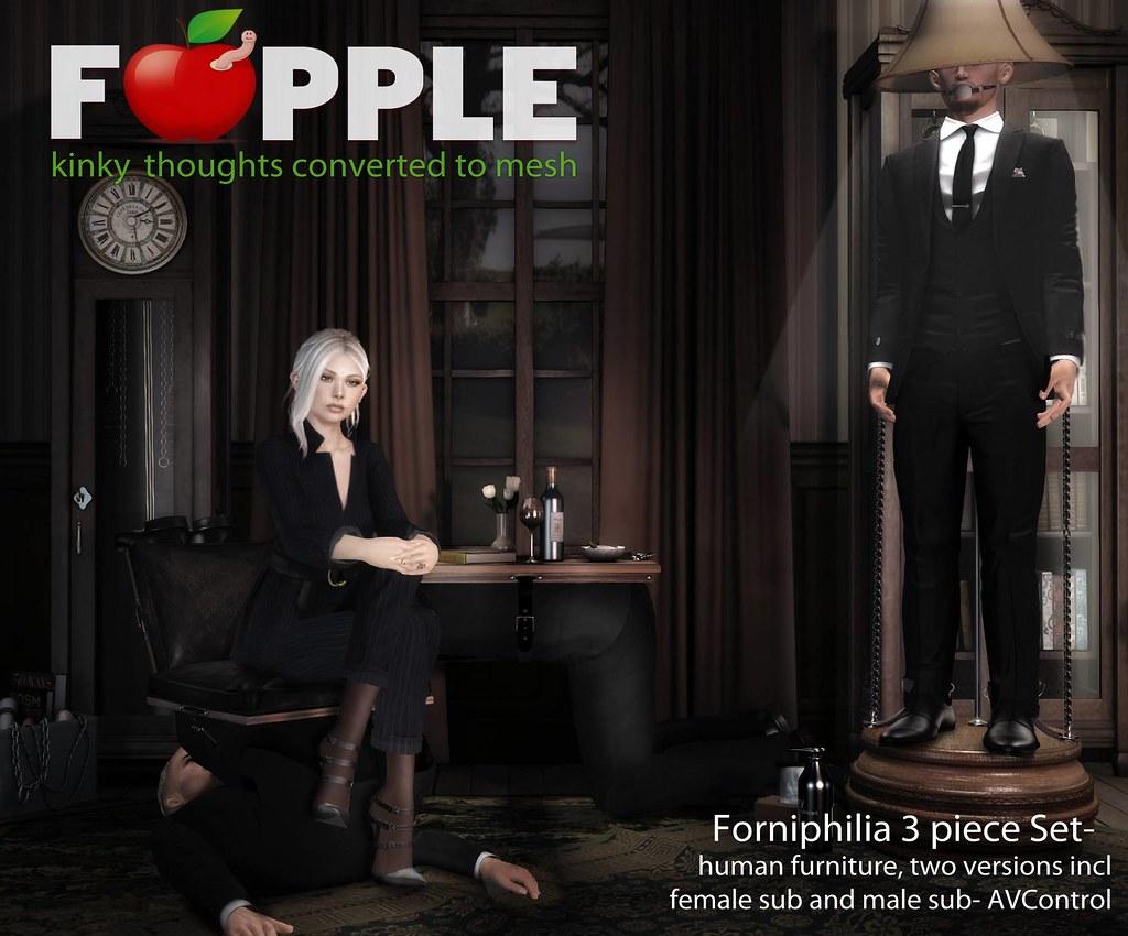 Forniphilia Set - Coming Soon! - TeleportHub.com Live!