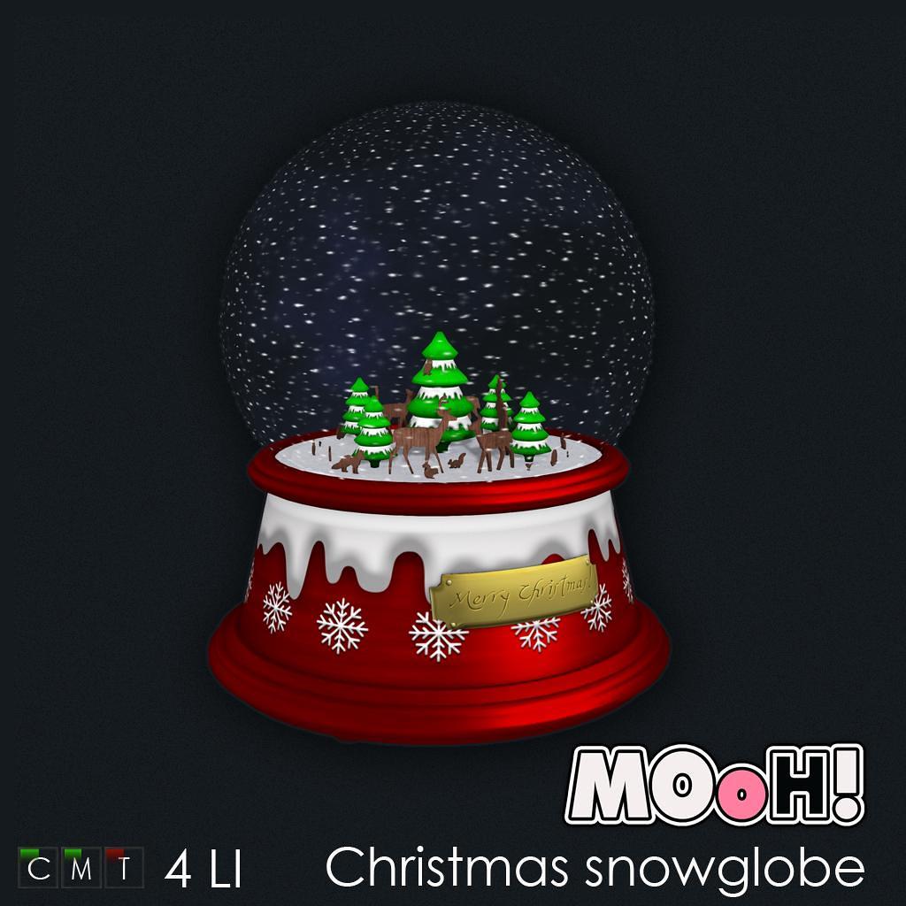 MOoH! Christmas snowglobe - TeleportHub.com Live!
