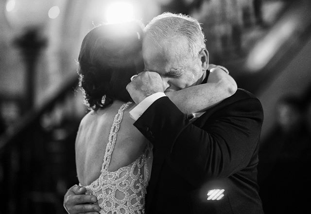 When is a moment more than a moment? When it represents decades into the past and future. Every time we photograph the little moments that might seem familiar, we keep in mind everything that has led to it. The hug of a father-daughter dance — or many sim