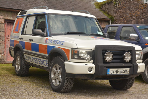 Waterford Civil Defence 2004 Landrover Discovery AWD GPV 04D20302