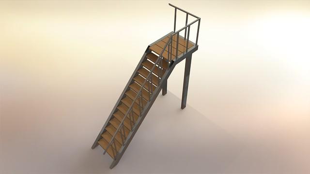 лестница 1-1