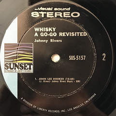 JOHNNY REVERS:LIVE AT THE WHISKY GO-GO REVISITED(LABEL SIDE-B)