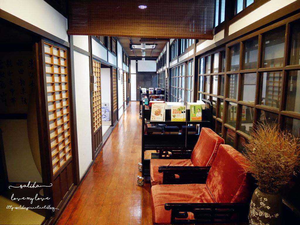 台北古亭站附近不限時日式咖啡廳下午茶推薦雅鴿書院 (10)