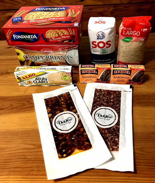 Recogida Solidaria de Alimentos de GetxoBlog con Rotary Getxo para Comedor Social de Algorta