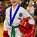 My niece Evie with tae kwon do bronze just missed out on a medal for pattern due to cheating twat being prompted by his photographer father, my nephew Logan only just lost his match & slightly faulted on pattern but the kid has zero fear & learning fast!