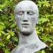 UK - Derbyshire - Near Edensor - Chatsworth House - Garden - Bust