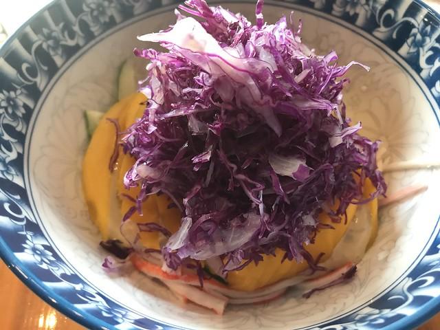 Ohayo,  kani salad