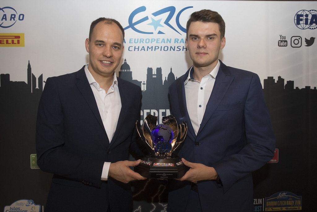 GRYAZIN Nikolay, portrait FEDOROV Yaroslav, portrait during the ERC Prize Giving at Paris, France, december 3, 2018 - Photo Gregory Lenormand / DPPI