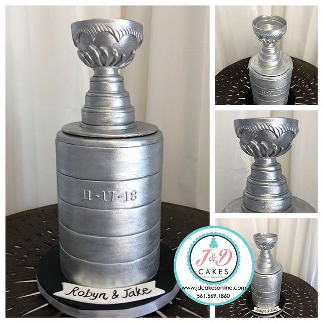 Stanley Cup Cake by J&D Cakes