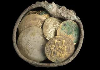 Caesarea gold coin find