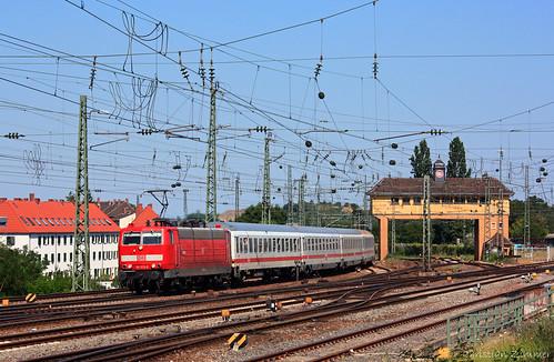 Zum Einsatzende: Saar-181 am Saarland-IC