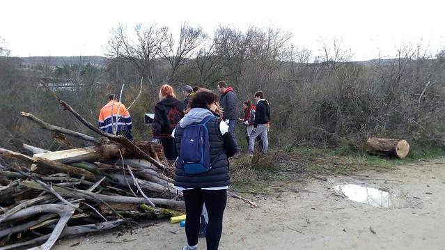 Limpieza en la Ribera del Río Torote
