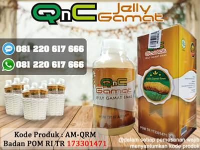 QnC Jelly Gamat Sebagai Obat Telapak Kaki Berlubang Dan Bau Di Apotik