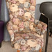 Floral bedroom chair E70